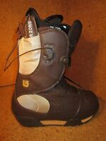New Burton Emerald Snowboard Boots Brown / Gold Size 5, 5.5, 6, 6.5, 7