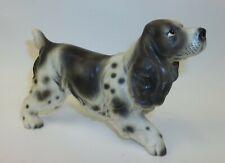 Vintage English Cocker Spaniel Porcelain Dog Figurine