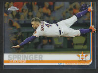 Topps - Chrome 2019 - # 42 George Springer - Houston Astros
