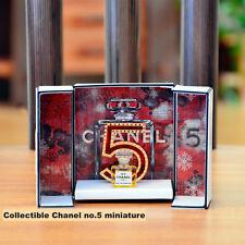 An unique collectible Chanel No 5 Eau de Parfum miniature **Very RARE** NIB