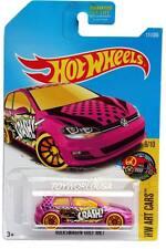 2017 Hot Wheels #111 HW Art Cars Volkswagen Golf MK7