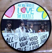 """! nuevo! imagen disco 7"""" Vinilo De Los Beatles todo lo que necesitas es amor el 20th aniversario"""