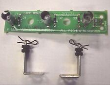 Gottlieb System 3 Pinball ~ MA1868 3-Position Lamp PCB With Standoffs & Clips!