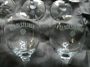 Ritzenhoff Cristal - Gerolsteiner Wassergläser Gläser 6er Set Sternkelche