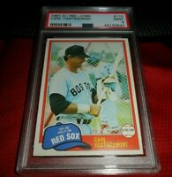 1981 O-PEE-CHEE OPC #110 CARL YASTRZEMSKI BOSTON RED SOX HOF PSA 9 MINT