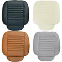 Universal Auto Sitz Kissen Sitzkissen Sitzauflage Leder PKW Cushion 4 Farbe