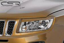 CSR Scheinwerferblenden für Jeep Compass ab 2011- Böser Blick Blenden Set ABS