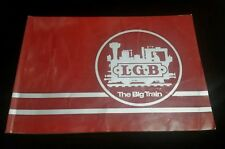 VINTAGE L.G.B. - The Big Train D 8500 Nurnberg Book Catalog 1981