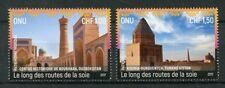 United Nations Nations unies-Genève 2017 neuf sans charnière UNESCO Heritage Le Long Silk routes 2 V SET STAMPS