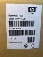 NEW** HP DesignJet 9000s/10000s/Seiko 64s/100s Right Media Feed Q6665-60077
