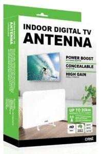 Crest Indoor Digital TV Antenna - Concealable