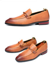 Popular Men's Business Casual Pu Leather Shoes Square Toe Large Size Loafers