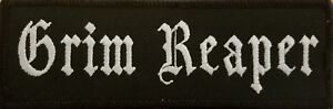 Grim Reaper  Patch With VELCRO® Brand Fastener Tactical Morale Funny Emblem