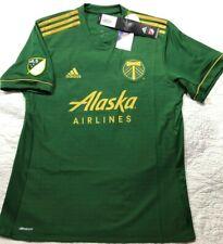 Portland Timbers Alaska Airlines Adidas Climacool MLS Soccer Jersey Large NAHS