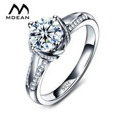 MDEAN, Vintage, Heart & Arrow Design Platinum Coated Ring - Ladies / Women's, AA