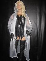 Damen-Regenmantel,Soft- PVC Mantel,Regenschutz,Regenbekleidung,44/46