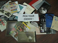 Pick your PRESTIGE books sold individually or multiples  BOOKLETS DX41 - DY27