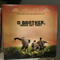 "O BROTHER WHERE ART THOU Movie Soundtrack (Double Album)12"" Vinyl Record LP - EX"