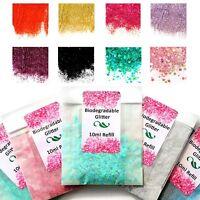 BUY 3 GET 3 FREE! LARGE 20ml bags biodegradable glitter bio eco tattoos craft ki