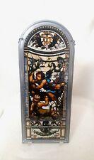 Church Window Style Repro Stained Glass Cherubs Angelsâ–ªSuncatcher Hangingâ–ª15x6