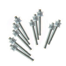 10Pcs Metal Tail Rotor Gear Shaft for T-REX 450 V2 GF Sport Helicopter