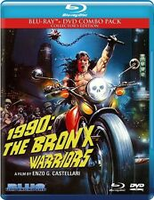 1990: The Bronx Warriors - 2 DISC SET (2015, Blu-ray NUOVO) (REGIONE A)