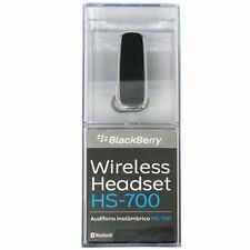 NIB Genuine BlackBerry HS-700 Wireless Bluetooth Headset Handsfree ACC-23688-001