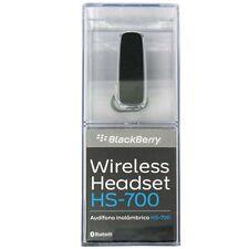 NIB Genuine BlackBerry HS-700 Wireless Bluetooth Headset Handsfree ACC-23688-001