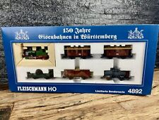 More details for fleischmann ho/h0 - 4892 -  limited edition special - wurttemberg mixed traffic