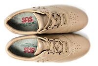 SAS Free Time TriPad Comfort Womens 7.5 N Mocha Leather Walking Casual Shoes USA