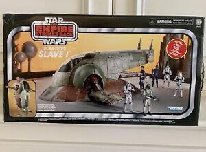 2020 Star Wars Empire Strikes Back Boba Fett's Slave 1 Vintage Collection