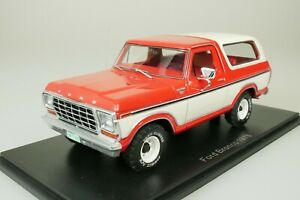 Ford Bronco 1978 Red - White 1/43 Neo 46910 New