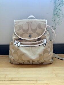 COACH Backpack (Lavender Interior Color)