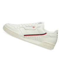 ADIDAS MENS Shoes Continental 80 - Tint, Off-White & Scarlet - B41680