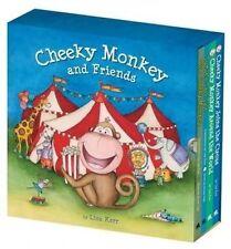 Cheeky Monkey & Friends 4-Book Slipcase by Lisa Kerr (Hardback, 2016)
