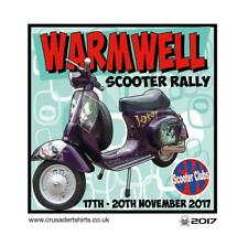 WARMWELL 2017 SCOOTER RALLY RUN  PATCH MODS SKINHEADS SCOOTERIST SCOOTER BOYS