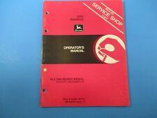 John Deere Operators Manual Om-A42432 1550 Backhoe Issue L0 M5131
