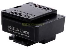 Metz zoccolo SCA 3401 TTL, dedicato Nikon. Per tutti i flash Metz SCA system.