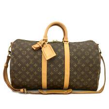 Louis Vuitton Monogram Keepall Bandouliere 45 Boston Travel Hand Bag /90683