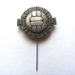 Football Club FC Karpaty Lviv Old Badge Pin Anstecknadel Brosche Brooch Ukraine