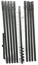 Erdbohrer Erdlochbohrer Brunnenbohrer Brunnenbohrgerät Handerdbohrer 90 mm