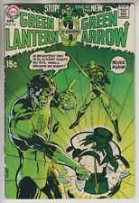 GREEN LANTERN # 76  FN 6.0  KEY 1ST GREEN ARROW TEAM-UP NEAL ADAMS ART 1970