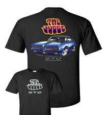Pontiac GTO Judge  Mens Black T shirt