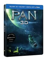 Pan 3D + 2D Limited Edition Steelbook Blu Ray (Region Free)