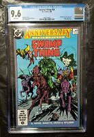 SWAMP THING 50 CGC 9.6 1ST APP JUSTICE LEAGUE DARK 1986 DC COMICS CONSTANTINE
