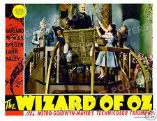 THE WIZARD OF OZ LOBBY SCENE CARD # 8 POSTER 1939 FRANK MORGAN PROFESSOR MARVEL