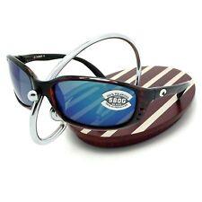 NEW Costa Del Mar BRINE Tortoise & 580 Blue Mirror Glass 580G