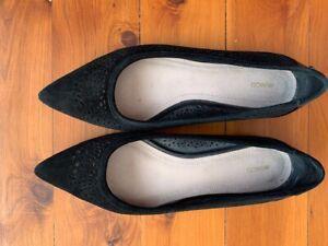 Mimco Ballet Flats Size 40 Black