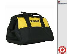 "New Dewalt 13"" Mini Heavy Duty Contractor Plastic Skids Bottom Tool Bag"