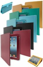 For iPad, 1st Generation, Heavy Duty Durable Leather Folio Kickstand Case Cover